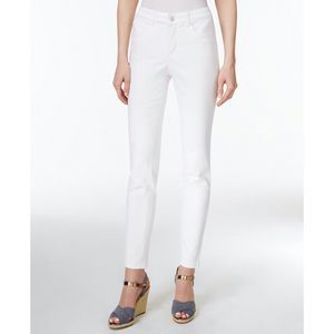 Charter Club Skinny Jeans White 8 New